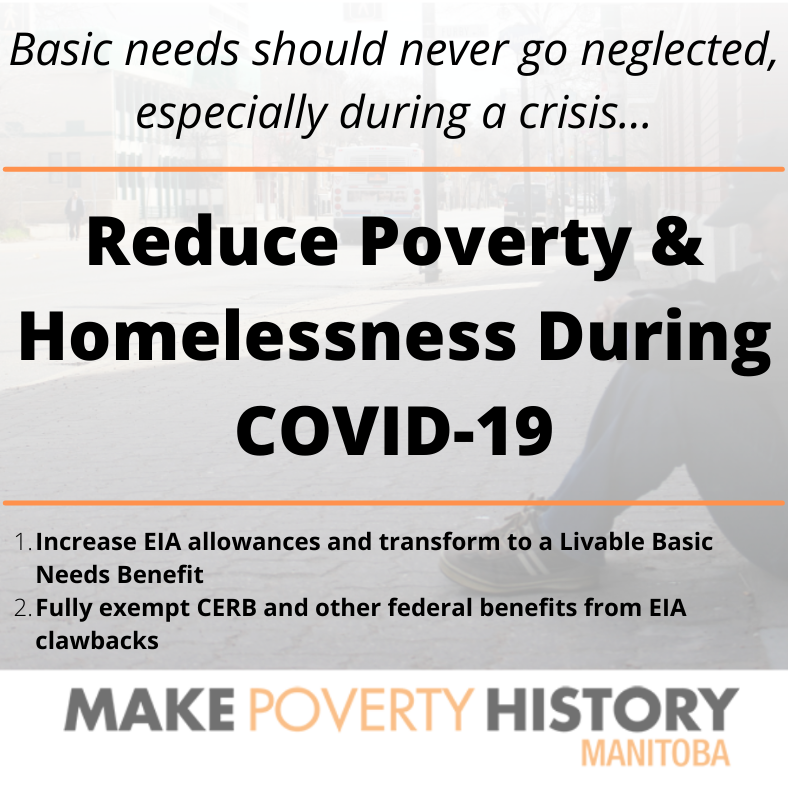 Reduce Poverty & Homelessness During COVID-19